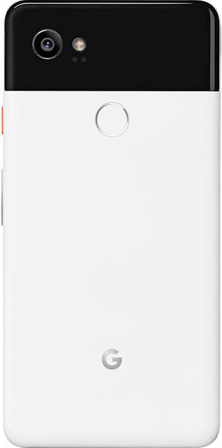 Google Pixel 2 XL rear side panda version