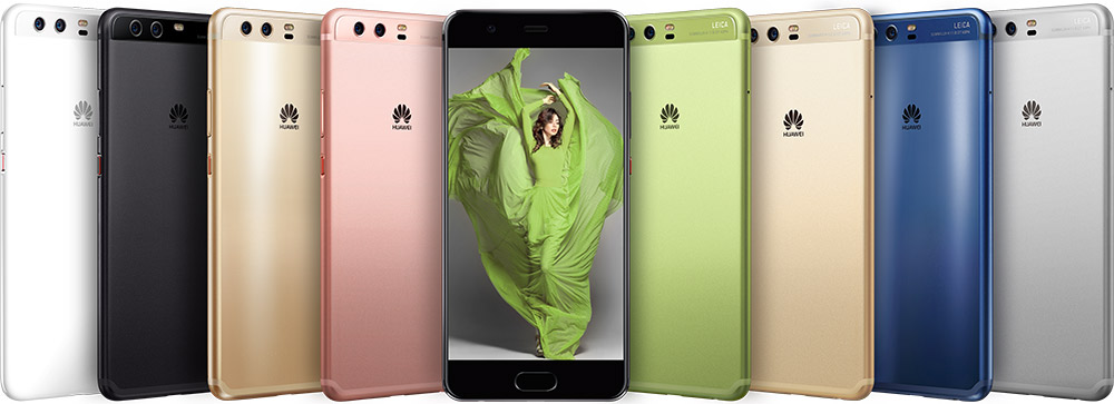 Huawei P10 all color variations
