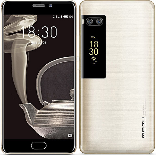 Meizu Pro 7 Plus smartphone rear and back sides