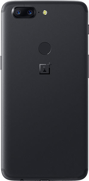 OnePlus 5T rear dual cameras