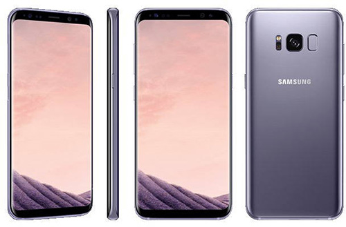 Samsung Galaxy S8+ in Orchid Grey color
