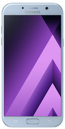 Samsung Galaxy A7 2017 gray front side