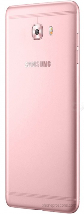 Pink color Galaxy C9 Pro