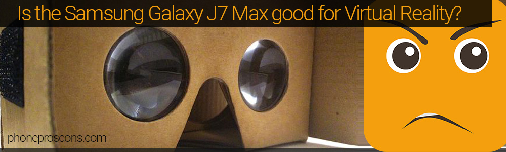 Google Cardboard headset with sad smiley face
